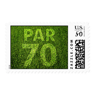 Golfers 70th Birthday Party Postage