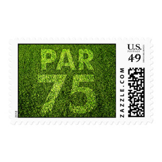 Golfers 75th Birthday Party Postage