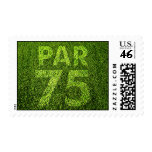 Golfers 75th Birthday Party Stamp