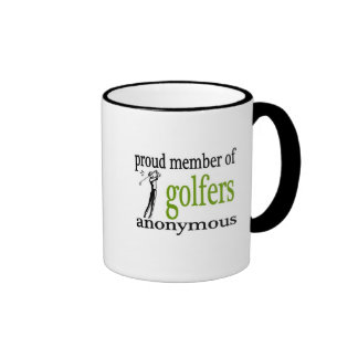 Golfers Anonymous Coffee Mug
