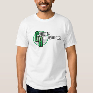 Golfers Anonymous Tee Shirt