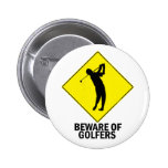 Golfers Buttons
