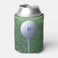 Golfer's Can Cooler Golf Ball on the Green