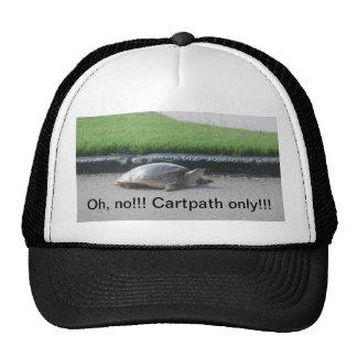 Golfers'  caps trucker hat