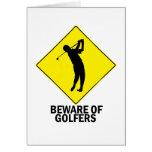 Golfers Cards