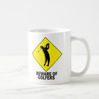 Golfers Classic White Coffee Mug