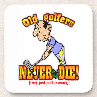 Golfers Drink Coasters