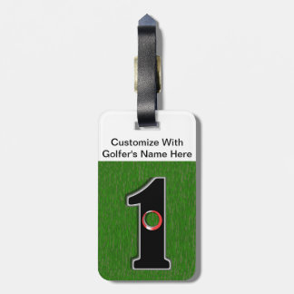 Golfer's Dream - Hole in One! Luggage Tag