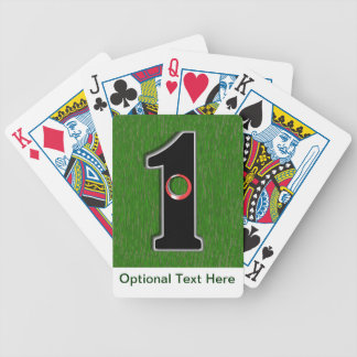 Golfer's Dream - Hole in One! Poker Cards