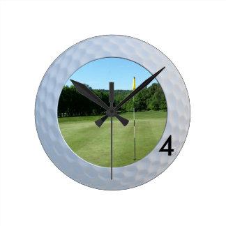 Golfer's Fairway Clock - Upload your golfing image