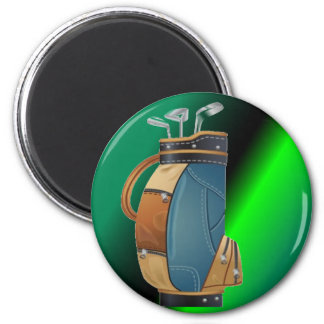 Golfers Gift Collection 2 Inch Round Magnet