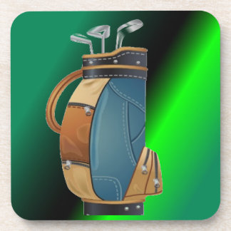 Golfers Gift Collection Beverage Coaster