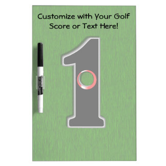Golfers Hole in One. Luck or Skill? Dry-Erase Board