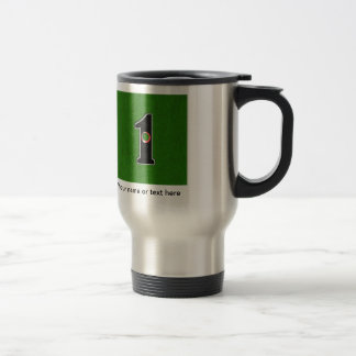 Golfers Hole in One. Luck or Skill? 15 Oz Stainless Steel Travel Mug
