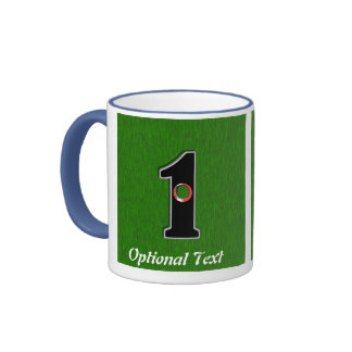 Golfers Hole in One. Luck or Skill? Ringer Coffee Mug