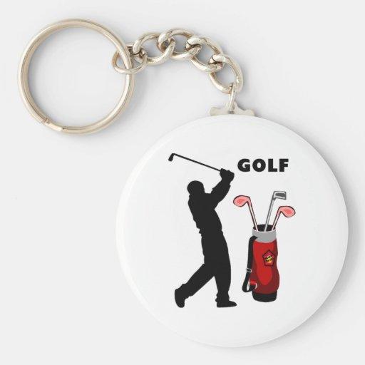 Golfers Key Chains