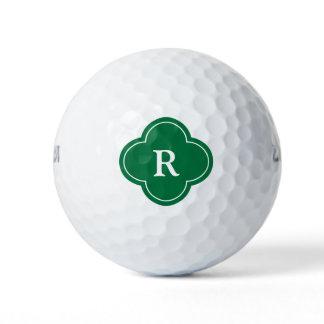 Golfer's Monogram Initial Golf Balls