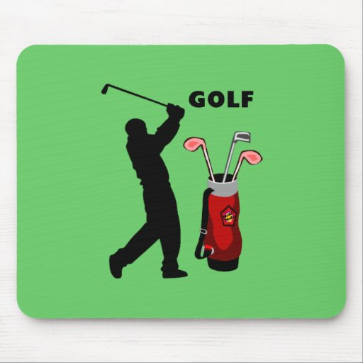 Golfers Mouse Pad