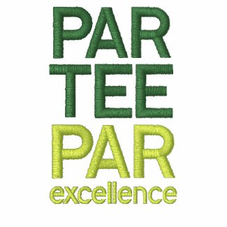 Golfers Par Tee Party Shirts embroideredshirt
