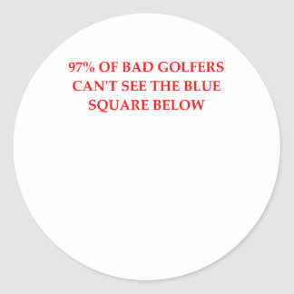 GOLFERS.png Sticker