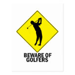 Golfers Postcards