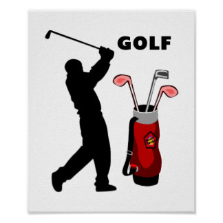 Golfers Posters