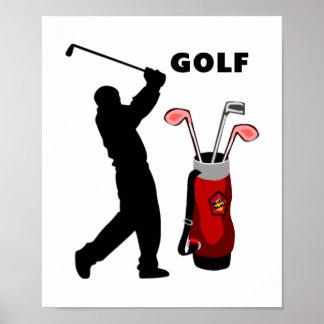 Golfers Poster