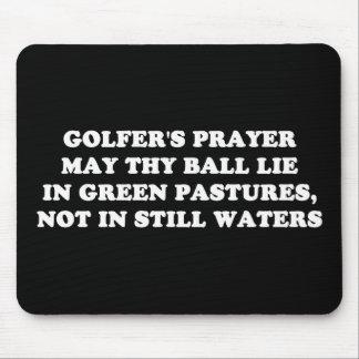 GOLFER'S PRAYER MOUSE PAD