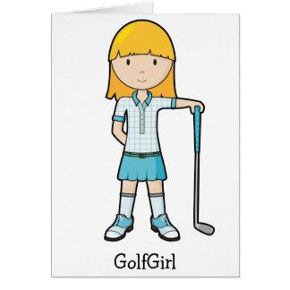 GolfGirl Tarjetón