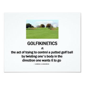 Golfikinetics Card
