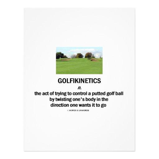 Golfikinetics Custom Flyer