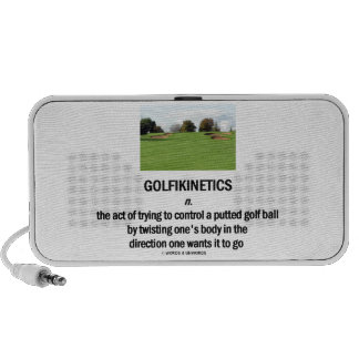 Golfikinetics (Golf Course) Travel Speakers