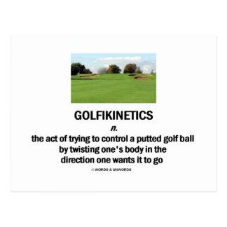 Golfikinetics Postales
