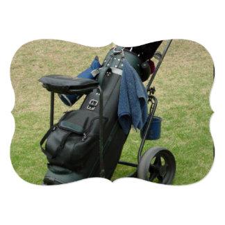 Golfing 5x7 Paper Invitation Card