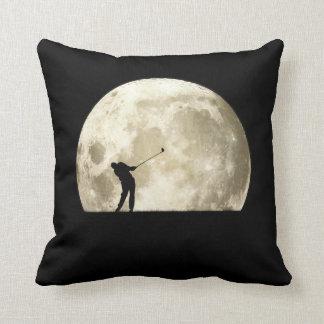 Golfing At Night Pillows