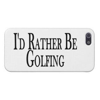 Golfing bastante iPhone 5 funda
