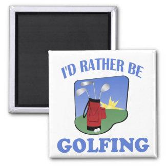 Golfing bastante iman