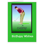 Golfing Birthday cards, I can't miss!