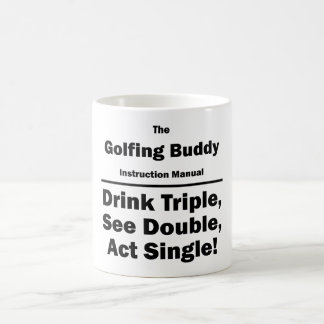 golfing buddy coffee mug