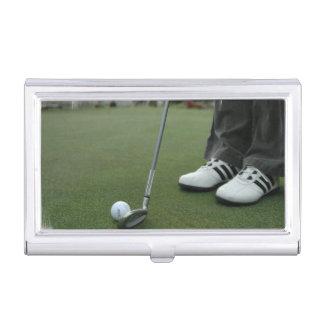 Golfing Business Card Holder