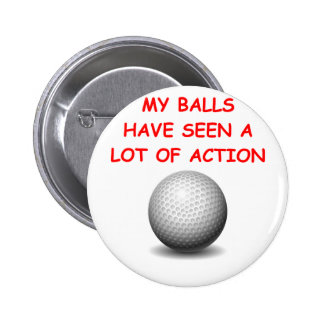 golfing button