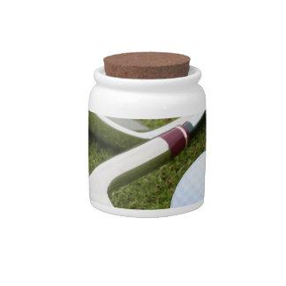 Golfing  Candy Jar