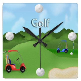 Golfing Clock