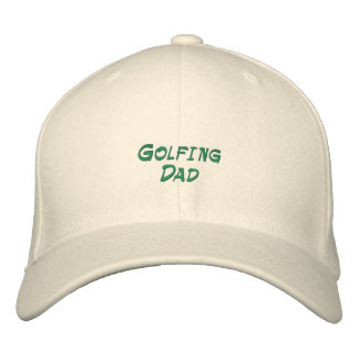 Golfing Dad Embroidered Hat