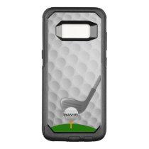 Golfing Design Otter Box OtterBox Commuter Samsung Galaxy S8 Case