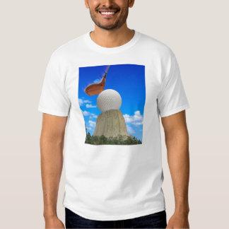 Golfing Devil's Tower T-Shirt