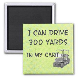 Golfing Drive Magnets