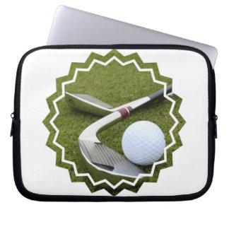 Golfing  Electronics Bag Laptop Sleeve