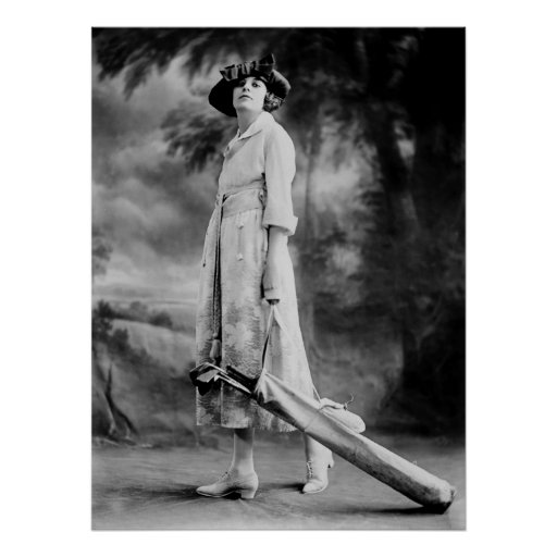 Golfing en estilo, los años 20 poster