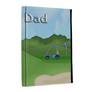 Golfing Father's Day Caseable iPad Folio iPad Folio Covers